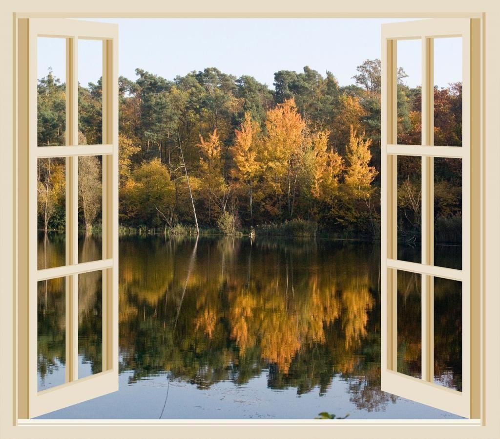 Bild offenes Fenster